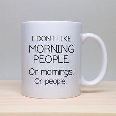 Funny Coffee Mug Unique Gift Idea Funny Gift por TheCoffeeCorner