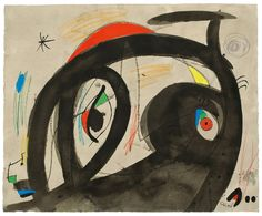 Untitled, 1973 - Joan Miró