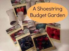 ShoestringBudgetGarden  http://thesurvivalmom.com/shoestring-budget-garden/