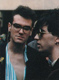Morrissey & Johnny Marr. The Smiths
