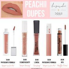 The best dupes for the new Iluvsarahii X Dose of Colors collection! - - The best dupes for the new Iluvsarahii X Dose of Colors collection! EyeLiner Tips Styles Tutorial 2019 EyeLiner ideas Tips and T. Make Up Dupes, Nyx Lipstick, Lipgloss, Drugstore Makeup Dupes, Beauty Dupes, Eyeshadow Dupes, Mac Dupes, Kylie Dupes, Skincare Dupes
