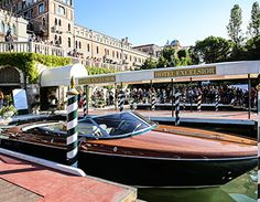 RIVA YACHTING LEGEND AT THE 74th VENICE INTERNATIONAL FILM FESTIVAL    From 30th August to 9th September 2017, Ferretti Group presented a Riva Lounge for the 74th Venice International Film Festival at Hotel Excelsior, Lido the famous meeting place for international jet-setters.