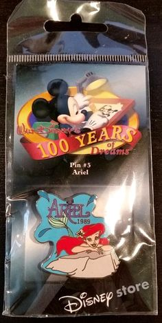 Disney - 100 Years of Dreams - Ariel 1989 - Pin #5