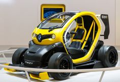 Twizy F1 is also exhibited on the Renault stand at the #IAA Frankfurt Motor Show ! Photo : OMG - Droits réservés Renault