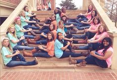 cute pose for a sorority portrait!