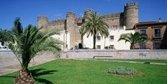 Zafra.This Parador is in a imposing castle, whose construction commencing in 1437. It was the former residence of the Dukes of Feria, one of Spain's great families.