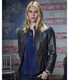 purchase the black voguish attire and flaunt Carrie Mathison leather jacket in front of your gathering and do not waste any more time on insignificant pieces. Claire Danes, Carrie Mathison, Film Jackets, Leather Jackets For Sale, Iconic Dresses, Kendall And Kylie Jenner, American Women, Girls Be Like, Homeland
