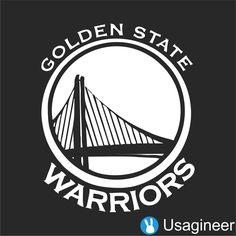 GOLDEN STATE WARRIORS NBA Sports VINYL DECAL STICKER