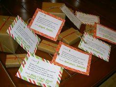 LOVE this idea.. A Christmas Scavenger Hunt.