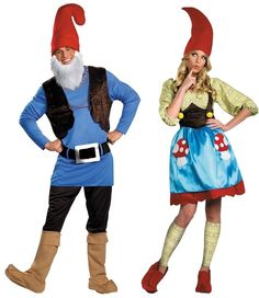 Couples Papa and Mrs. Gnome Costume Travelocity Halloween Disguise 38206 38208 #Disguise