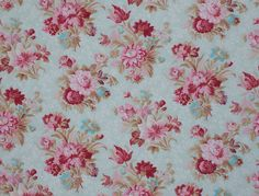 Vintage Flower Prints, Vintage Flowers, Vintage Fabrics, Vintage Linen, Background Vintage, Pretty Flowers, Girl Nursery, Paper Art, Tea Party