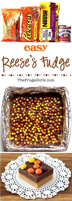 Reese's Fudge Bars | 18 Of The Easiest Desserts Ever