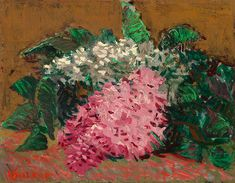 Vincent van Gogh's 'Lilacs' (1887), offered at $9.5m