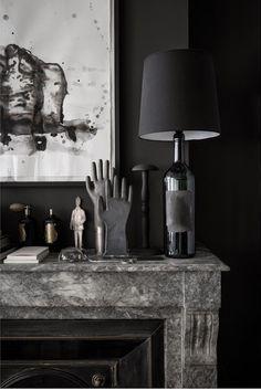 Black on Black | A beautiful home | Home Decor | Interior Design Inspiration