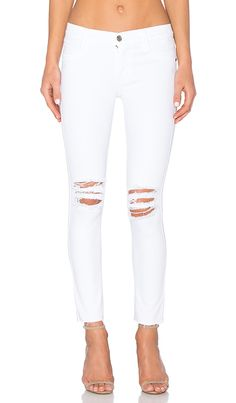 Shop for James Jeans Twiggy Ankle in Frost White at REVOLVE. Free 2-3 day shipping and returns, 30 day price match guarantee.