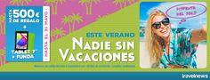 Ofertas en www.viajesviaverde.es: Este Verano, nadie sin Vacaciones... y disfruta de...
