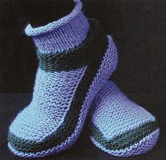 Ravelry: Add-a-Booties KOKA, WG17, SO17 pattern by Elizabeth Zimmermann