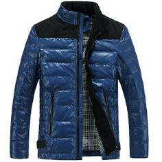 Herren modische Winterjacke regular fit Daunenjacke hot Wintermantel Hoodie Fashion Season, http://www.amazon.de/dp/B00GV2E21Y/ref=cm_sw_r_pi_dp_k1ALsb018C096