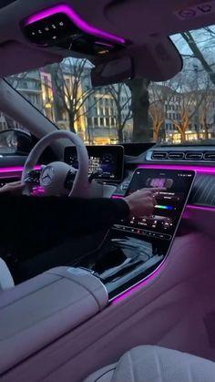 Fancy Cars, Cool Cars, Fille Et Dirt Bike, Car Interior Decor, Luxury Cars Interior, Top Luxury Cars, Luxury Sports Cars, Sport Cars, Cute Car Accessories