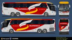 Buses, City, Paper, Design, Classic Cars, Pintura, Cities