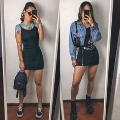 Cute Casual Outfits, Edgy Outfits, Mode Outfits, Grunge Outfits, Grunge Fashion, Look Fashion, Teen Fashion, Girl Outfits, Fashion Outfits