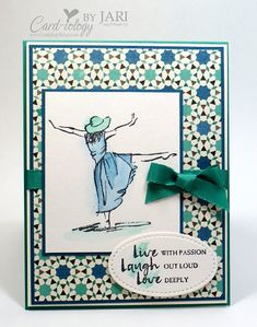 Live Laugh Love! by Jari - Cards and Paper Crafts at Splitcoaststampers