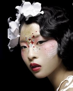 Creative makeup #asian