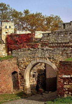 One of the inner gates of Kalemegdan fortress