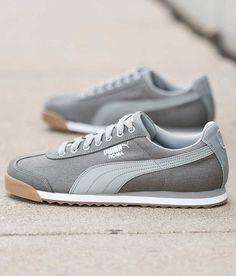 Puma Waxed Shoe - Men s Shoes in Grey Puma Silver  ac15d5b19