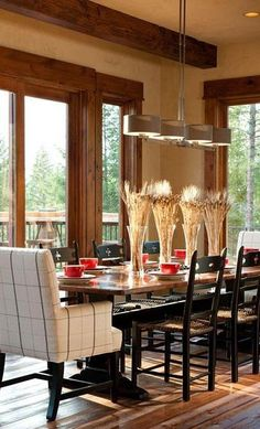 CIAO Interior Rustic Dining Room