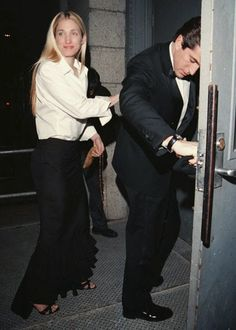 Carolyn Bessette Kennedy was street style before street style. And besides that, this look holds up today in fashion, for sure!