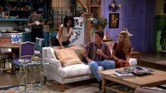 Friends Set Design - Why Monicas Apartment is Purple