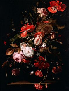 Willem van Aelst, Still-Life with Flowers, 1665