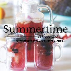 Keurig-Recipes- VitaminBursts-Strawberry-SummerDrinks-BrewOverIce- IcedTea- Best-K-Cup-Flavors