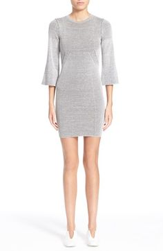 STELLA MCCARTNEY Bell Sleeve Knit Dress. #stellamccartney #cloth #