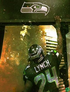 Lynch just signed a 2-year-extension to his Seahawk contract!!!!! I'm so happy!!!!