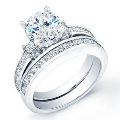 2.30 ct round cut diamond wedding engaement anniversary bridal ring set band - http://finejewelrygalleria.com/jewelry/religious-jewelry/230-ct-round-cut-diamond-wedding-engaement-anniversary-bridal-ring-set-band-com/