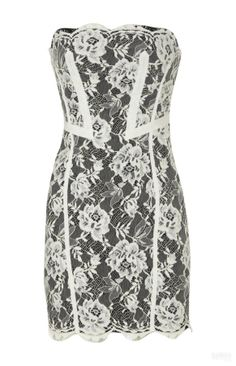 Replica Designer Clothing Free Shipping Karen Millen Lace Dress Black