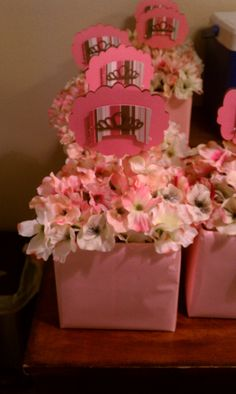 Center pieces for baby shower :)