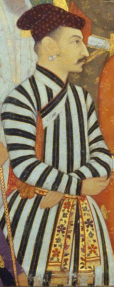 Jafar Khan at Shah Jahan's Coronation Ceremony. 1628 Mughal India.