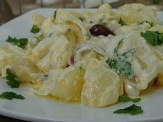 Cooking Recipes, Healthy Recipes, Greek Salad, Greek Recipes, Potato Salad, Food Processor Recipes, Cabbage, Salads, Recipies