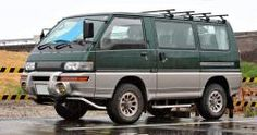 The Ten Best Vans of All Time - Mitsubishi Delica Mitsubishi Airtrek, Mitsubishi Delica, Mitsubishi Canter, 4x4 Van, Toyota Hiace, Mini Bus, Benz Sprinter, Cool Vans, Cool Campers