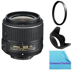 Introducing Nikon 1855mm f3556G VR II AFS DX NIKKOR Zoom Lens White Box Lens  52mm MultiCoated HD Glass UV Filter  Flower Tulip Lens Hood For Nikon D7100 D7000 D5300 D5200 D5100 D5000 D3300 D3200 D3100 D3000 D300 D300s Digital SLR Cameras. Great Product and follow us to get more updates!