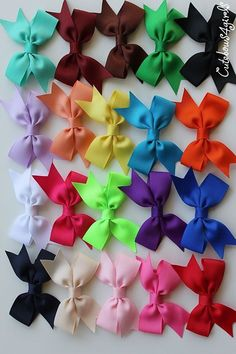 12+infant+bows++infant+bow+clip++bows+for+infant+by+cutebows4girls,+$10.00