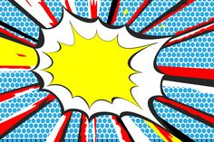 BANG Pop Art Mural Wallpaper, custom made to suit your wall size by the UK's for wall murals. Custom design service and express delivery available. Comic Book Yearbook, Yearbook Covers, Comic Books, Yearbook Class, Yearbook Theme, Comic Kunst, Comic Art, Comic Book Style Art, Art Mural