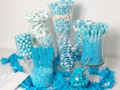 Blue Baby Shower Party Ideas | Photo 7 of 10 | Catch My Party