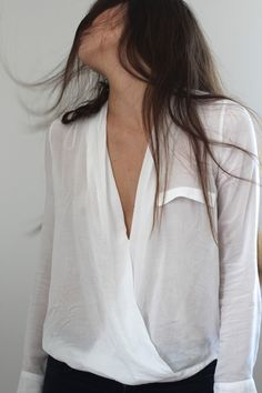Love these wrap shirts