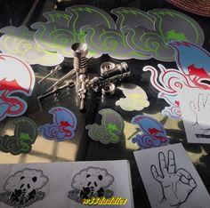 #w33daddict #StickersArt #StickersAddicts #CannabisStickers #Stickers #Cannabis #Marijuana #Hash #Hemp #Weed #Blunt #Joint #Amsterdam #CoffeShops #Reefer #Stoners #Smokers  #Drugs #Pot #IWillMaryMary #iDabs #710 #420 ...