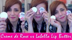 Creme De Rose Dior VS Labello Lip Butter