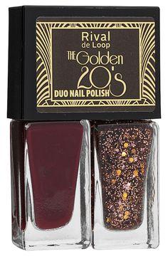 """""""The Golden 20's"""" ist die neue Limited Edition von Rival de Loop: Eyeshadow Palette, Nagellack & Co. interpretieren das Jahrzehnt und bilden die Grundlage für Make-ups mit dem…"""
